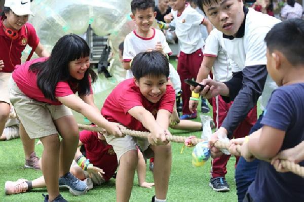 Là cơ hội để trẻ vận động thể chất